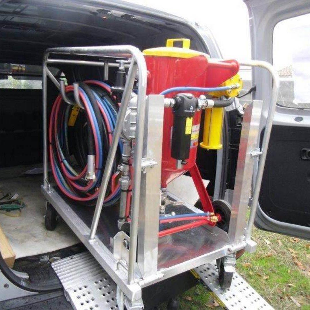 3 Unité Mobile Hydrogommage Aérogommage ACS